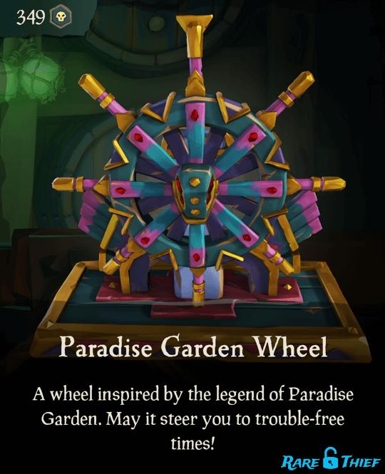 Paradise Garden Wheel