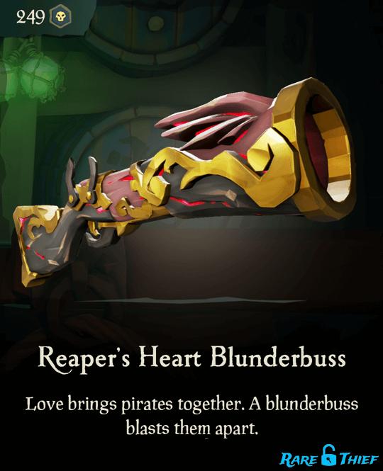 Reaper's Heart Blunderbuss