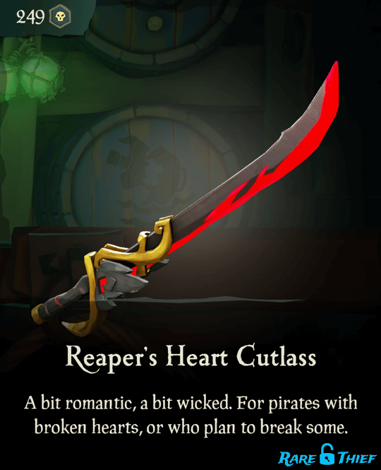 Reaper's Heart Cutlass