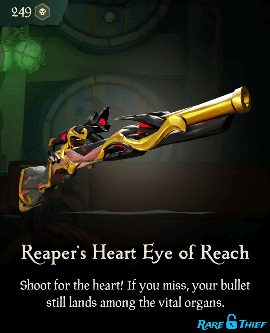 Reaper's Heart Eye of Reach