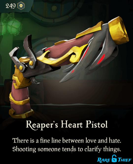 Reaper's Heart Pistol