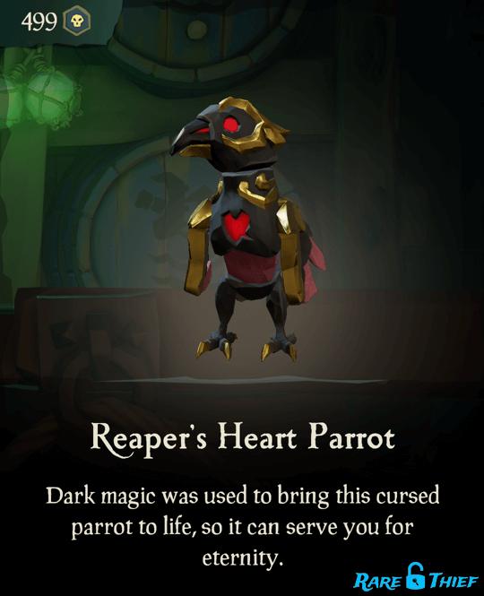 Reaper's Heart Parrot