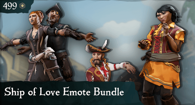 Ship of Love Emote Bundle