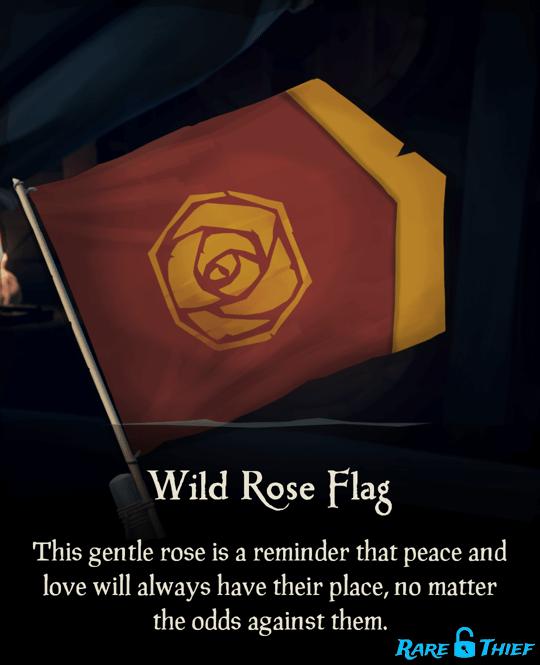 Wild Rose Flag