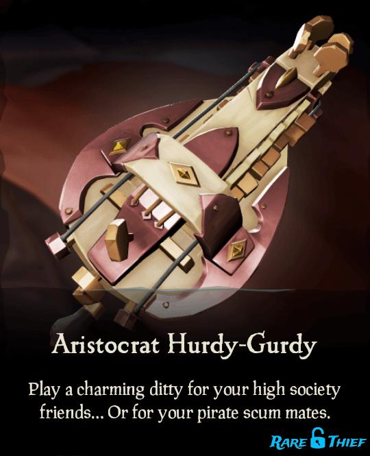Aristocrat Hurdy-Gurdy