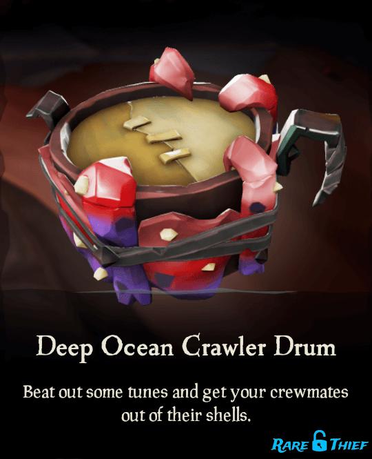 Deep Ocean Crawler Drum