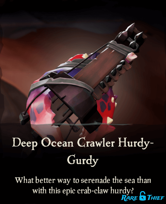 Deep Ocean Crawler Hurdy-Gurdy