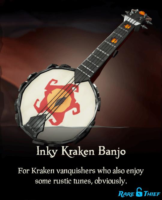 Inky Kraken Banjo