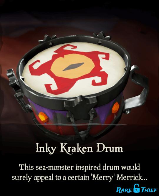 Inky Kraken Drum