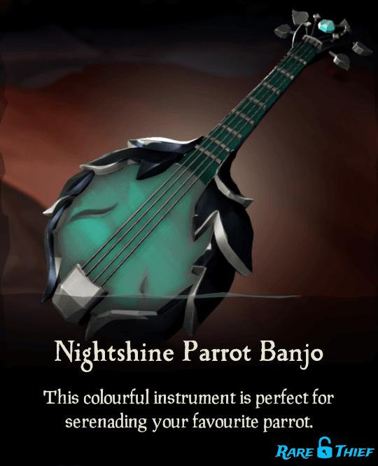Nightshine Parrot Banjo