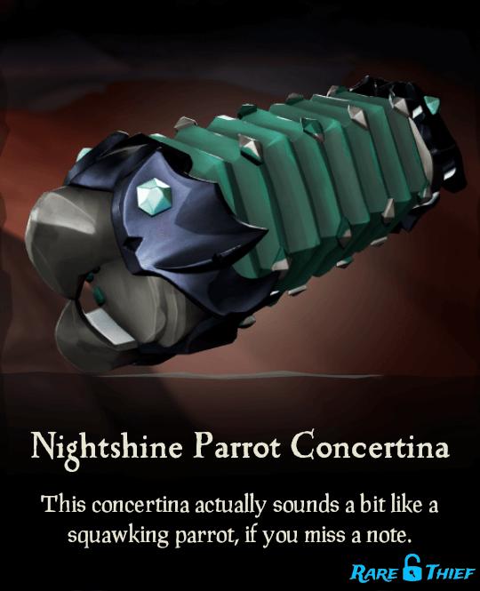 Nightshine Parrot Concertina