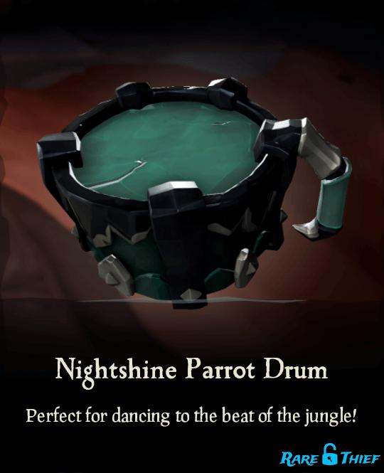 Nightshine Parrot Drum