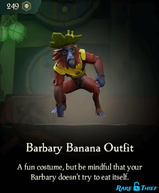 Barbary Banana Outfit