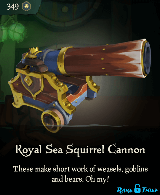 Royal Sea Squirrel Cannon