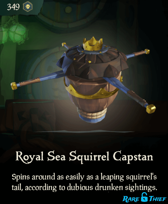 Royal Sea Squirrel Capstan