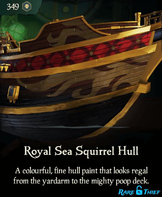 Royal Sea Squirrel Hull