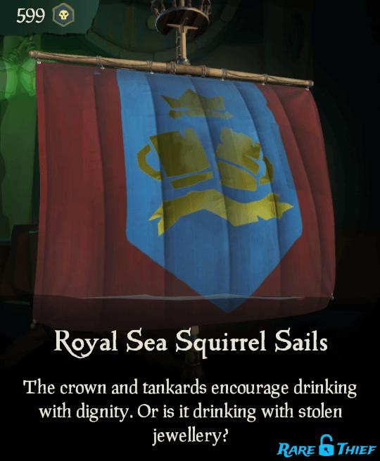 Royal Sea Squirrel Sails