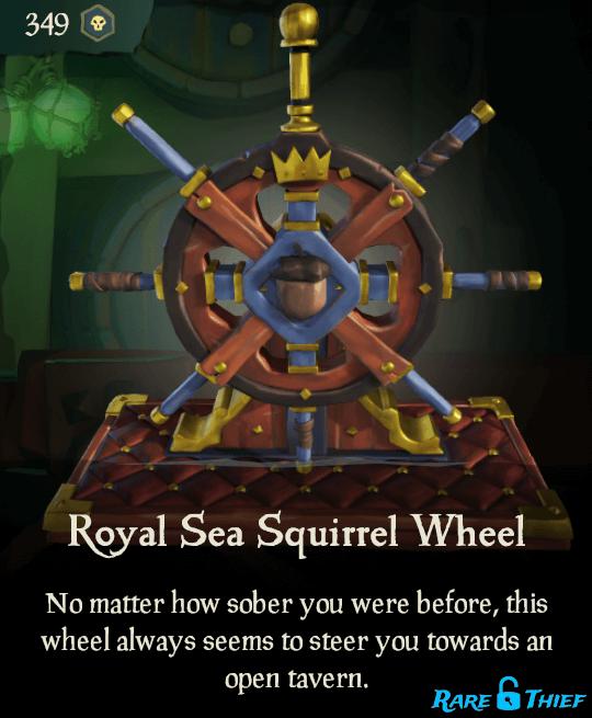 Royal Sea Squirrel Wheel
