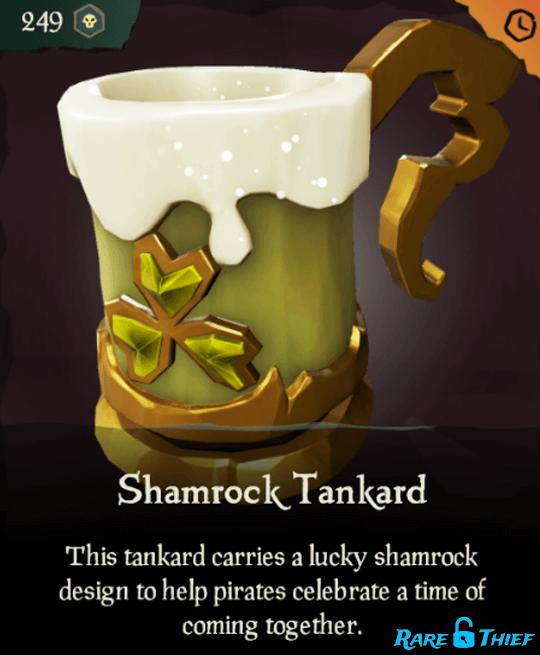 Shamrock Tankard