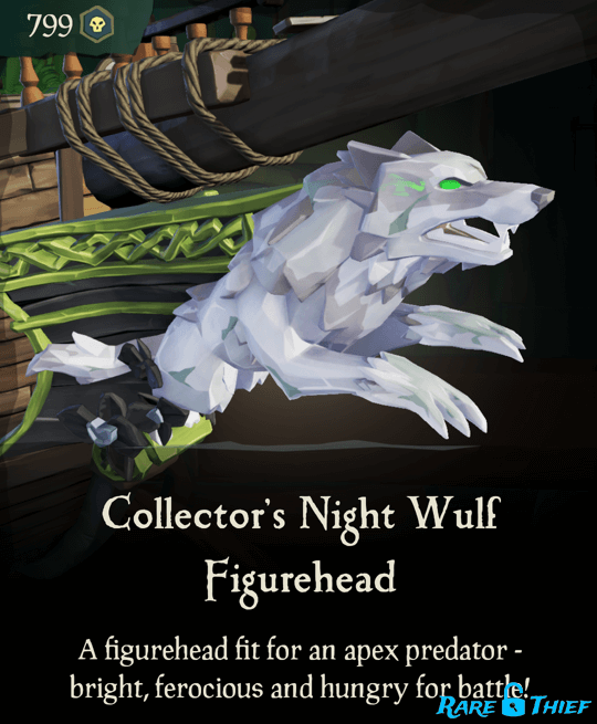 Collector's Night Wulf Figurehead