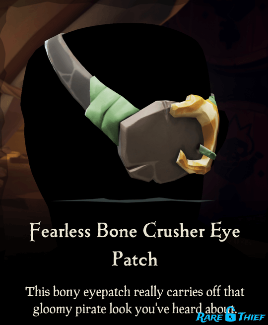 Fearless Bone Crusher Eye Patch