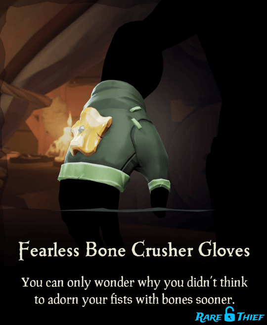 Fearless Bone Crusher Gloves