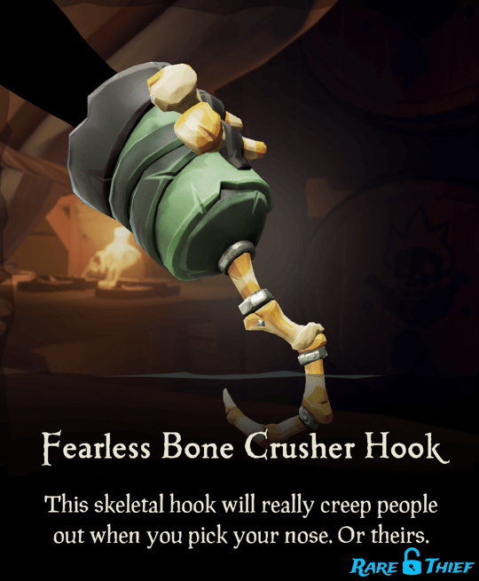 Fearless Bone Crusher Hook