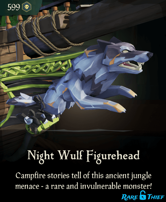 Night Wulf Figurehead