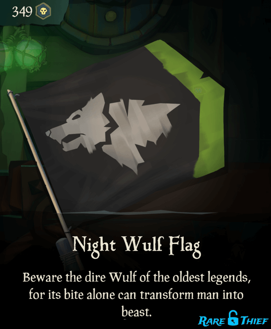 Night Wulf Flag