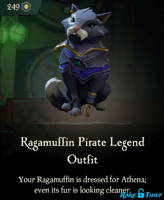 Ragamuffin Pirate Legend Outfit
