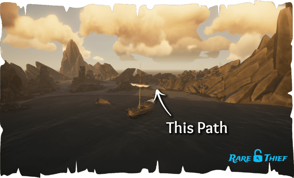 Shores of Gold Journal #4, 'No shortcuts!' Path