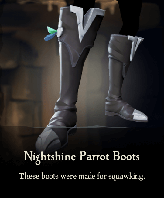 Nightshine Parrot Boots