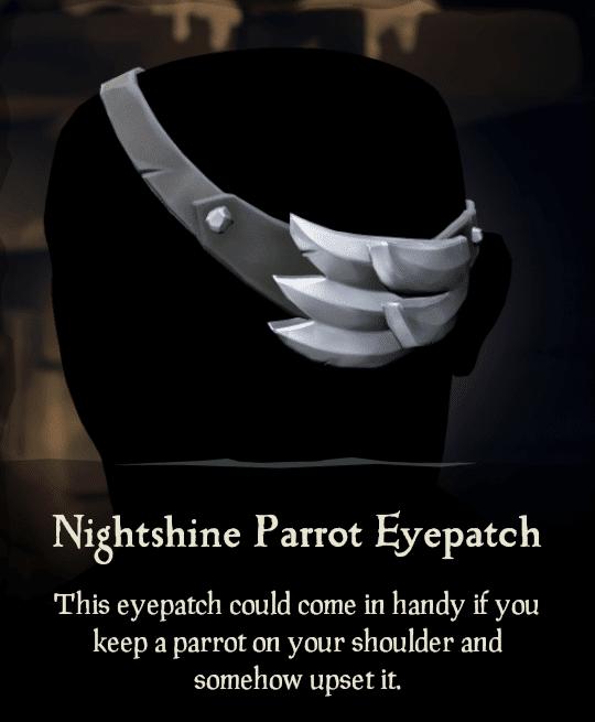 Nightshine Parrot Eyepatch
