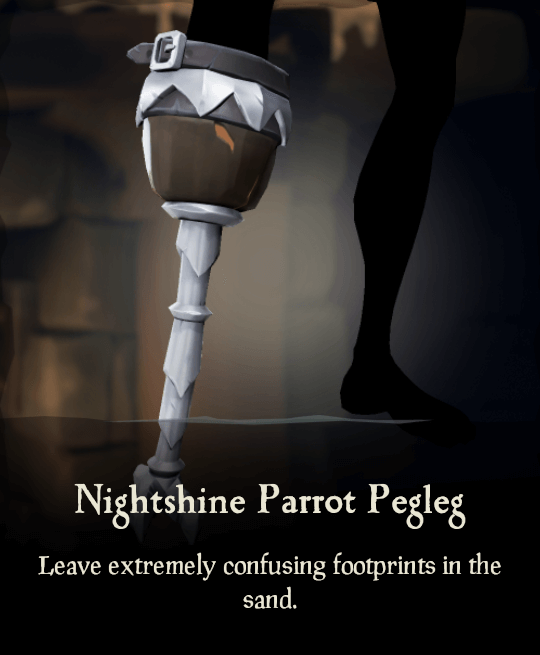 Nightshine Parrot Pegleg