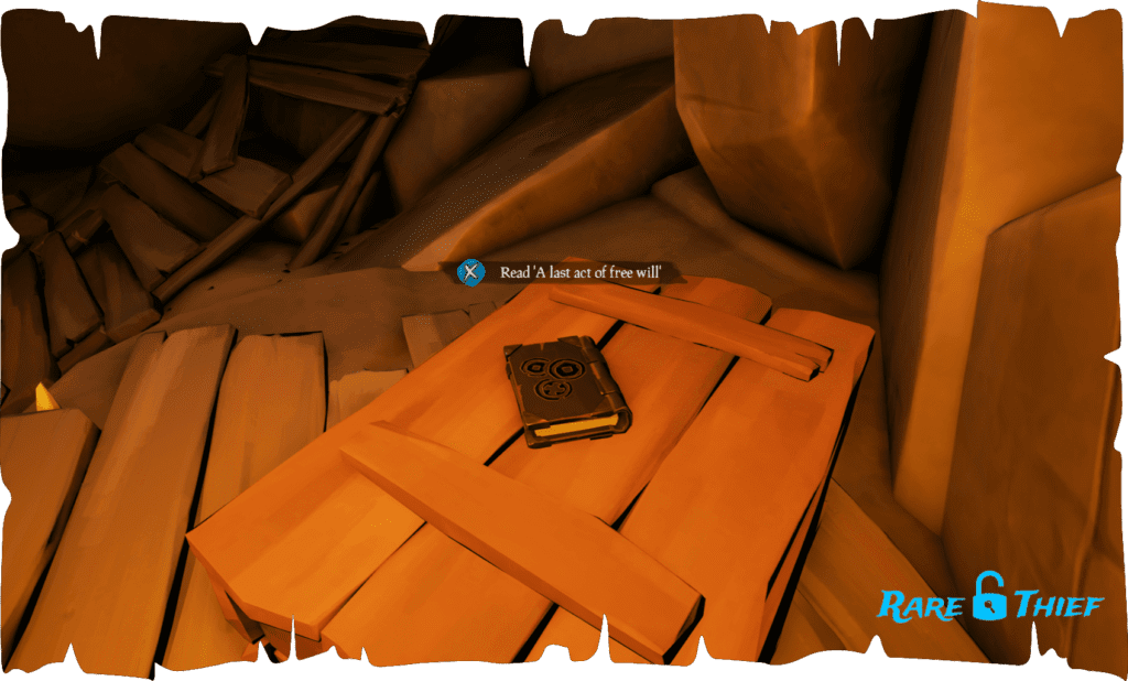 Shores of Gold Journal #10, 'A last act of free will'