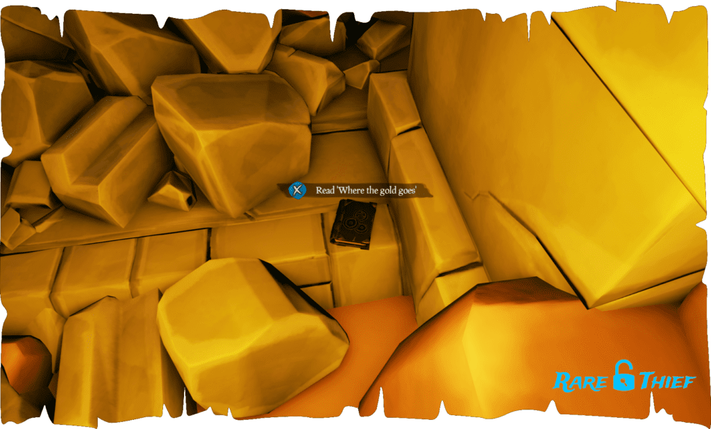 Shores of Gold Journal #7, 'Where the gold goes'