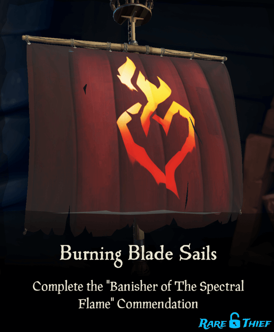 Burning Blade Sails