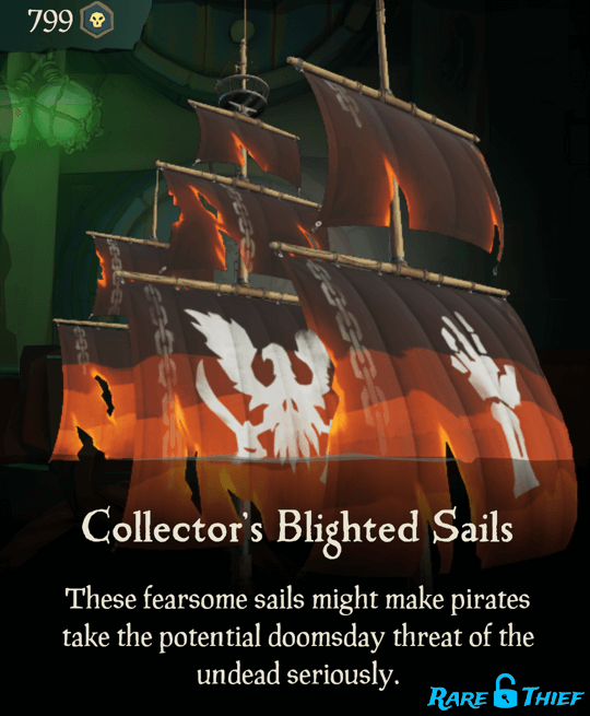 Collector's Blighted Sails