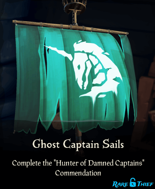 Ghost Captain Sails