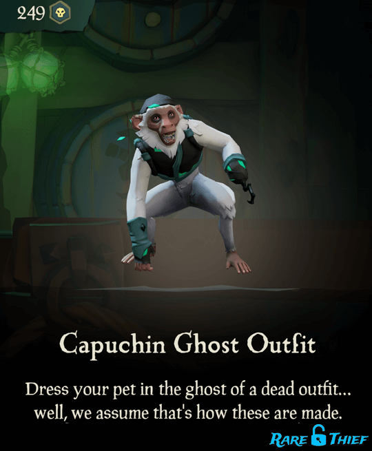 Capuchin Ghost Outfit
