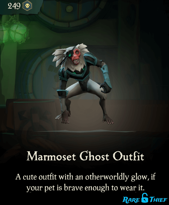 Marmoset Ghost Outfit