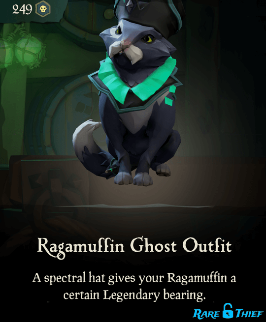 Ragamuffin Ghost Outfit
