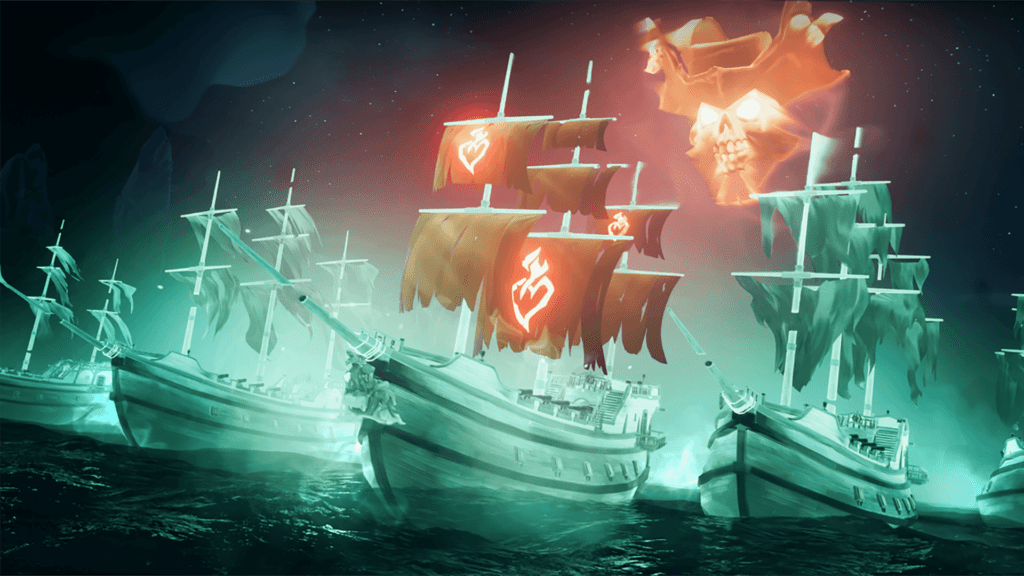 Ghost Ships Flameheart