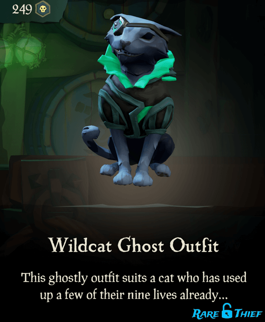 Wildcat Ghost Outfit