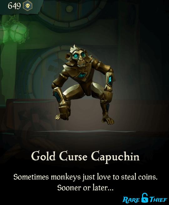 Gold Curse Capuchin