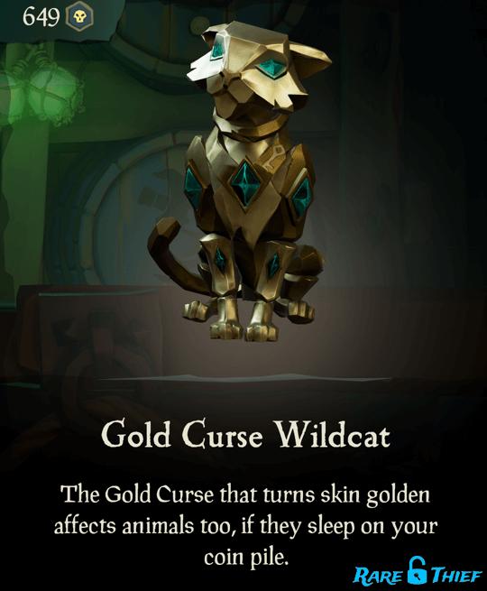 Gold Curse Wildcat