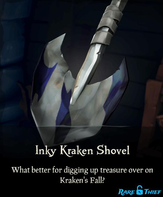 Inky Kraken Shovel