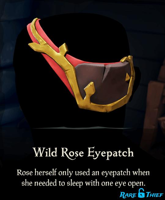 Wild Rose Eyepatch