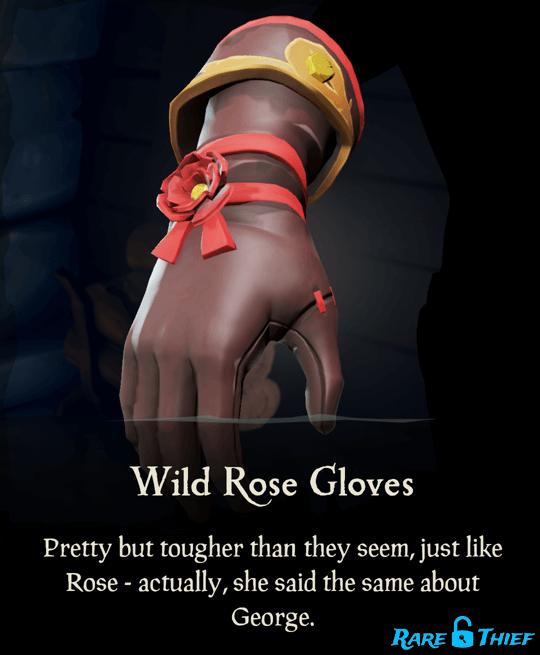 Wild Rose Gloves