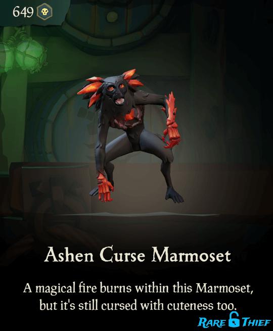 Ashen Curse Marmoset